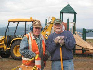 Volunteers at Fort Flagler State Park