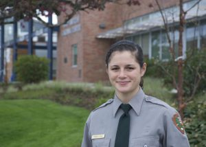 Amanda Lowe Llanes at Parks Law Enforcement Academy