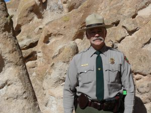 Tom Betts, Chief Ranger at Bandelier National Monument