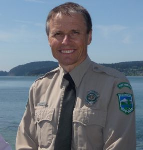 Jack Hartt, Manager of Deception Pass State Park