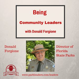 Being a Community Leader with Donald Forgione