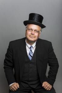 Clay Jenkinson portrays Theodore Roosevelt