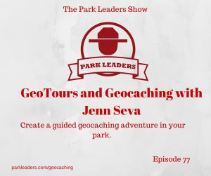GeoTours and Geocaching with Jenn Seva