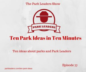 Ten Park Ideas