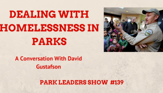 Dealing with Homelessness in Parks