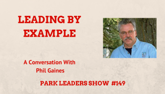 phil gaines south carolina state parks leading by example